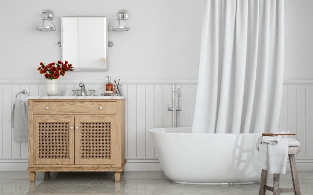 Giving the Bathroom a Makeover